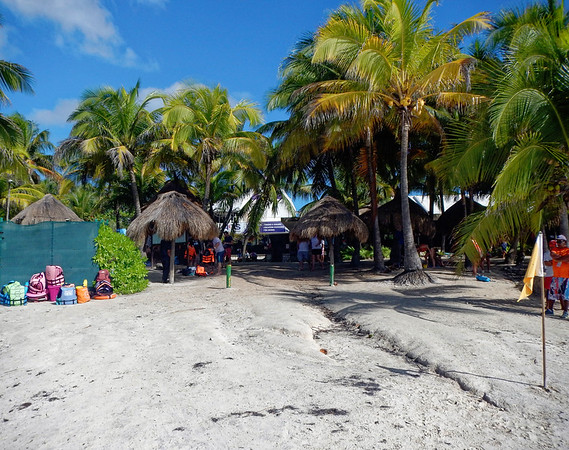 Akumal beach - the original dive shop, started in the mid-70s.