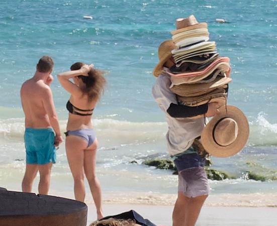 Akumal Secrets - hats for sale