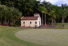 Small church on the driving range - most golfers probably need to take advantage of it.