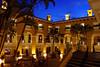 Courtyard at sunset, Marriott San José Costa Rica