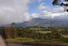 Approaching Poás volcano