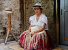 """Weaving a hat - the """"finos"""" take 9 months to make"""