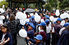 Parade, kids and balloons