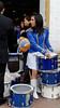 Parade, little drummer girl