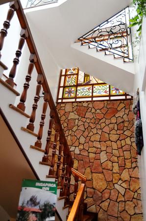 Staircase, Hotel Victoria, Cuenca
