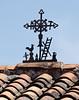 Mestizo cross on the museo