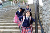 Schoolgirls in a rush, Cuenca