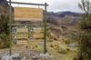Entering Parque Nacional Cajas, Ecuador, outside Cuenca