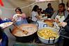 DAY 7:  Food at the installation of la chola cuencana