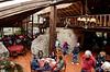 Dos Chorreras, main dining area