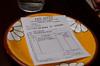 La cuenta from San Sebas - great breakfast