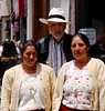 """Two ladies from """"el campo"""" - Teo talked them into getting their photo taken with me"""