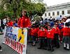Parade, elementary school kids