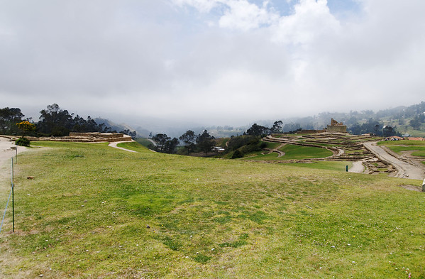 Overview - this was a resting place for the Incan ruler on his journey through his kingdom