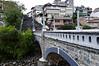 Bridge over the Tomebamba river
