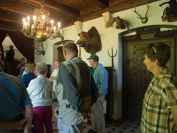 Reichburg Castle - game room