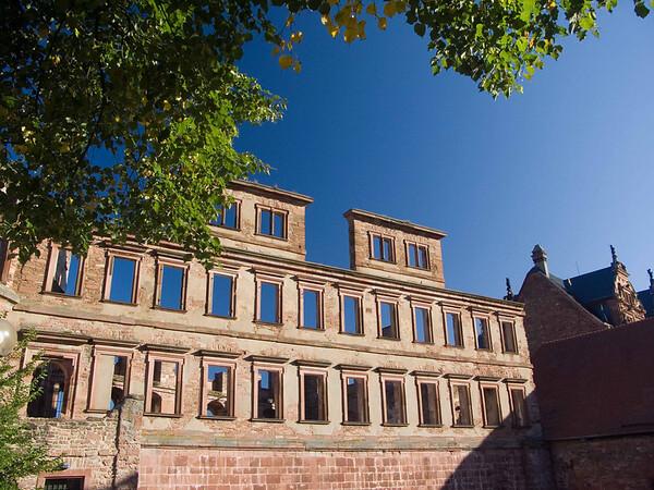 Heidelberg, Castle and empty rooms