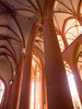 Heidelberg, Heiliggeistkirche, inside to the side