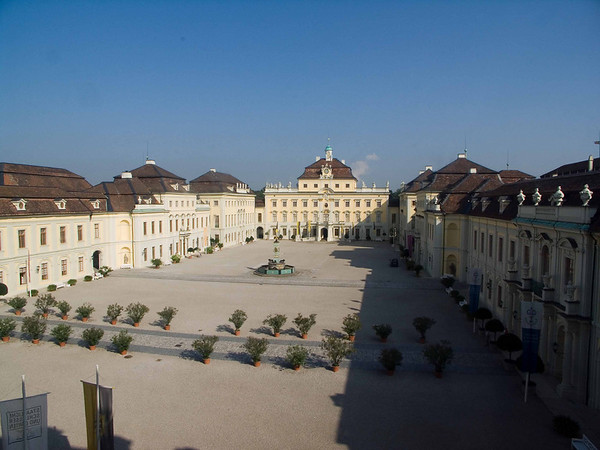 Ludwigsburg - Palace courtyard