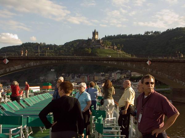Reichburg Castle, Cochem, bridge