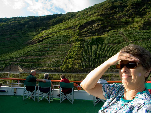 Suzanne, upper deck, Mosel to Cochem