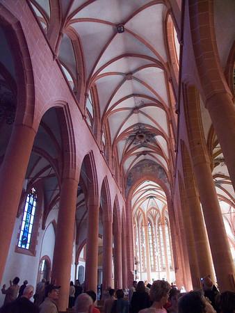 Heidelberg, Heiliggeistkirche, center