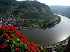 Cochem, view from Reichsburg Castle of the Mosel