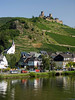 Town and Castle, Mosel, from Zell to Cochem