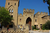 Main building of winery.<br /> Chateauneuf du Pape, France