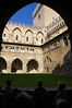 Courtyard, Palace of the Popes, Avignon