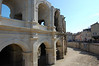 Restored part of coliseum
