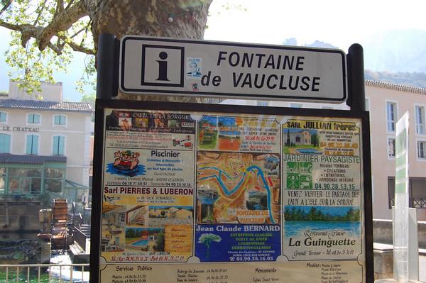 DAY 6 <br /> Fontaine de Vaucluse, France
