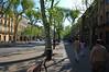 Wide street, peaceful stroll <br /> Aix-en-Provence, France