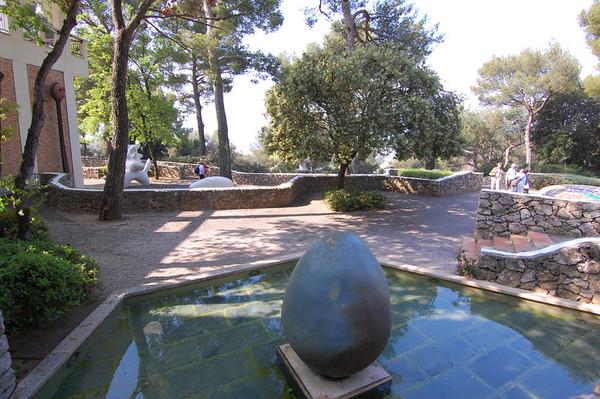 Joan Miro<br /> Foundation Maeght  <br /> St-Paul-de-Vence, France<br /> Nikkor 12-24mm f/4G ED-IF AF-S DX