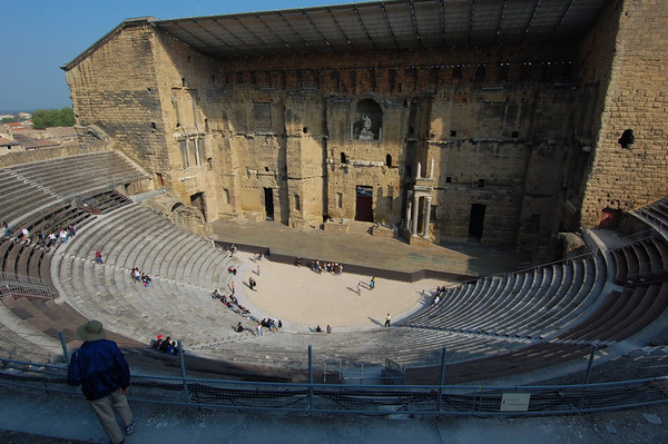 View of the theater - Orange, France