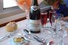"""Avignon, lunch setting aboard """"Mi Reio"""""""