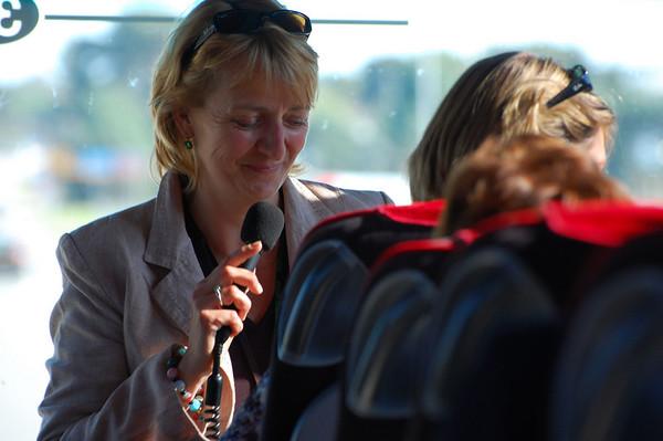 Nina, our tour guide in Avignon
