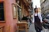 Street cafe scene<br /> Nice, France