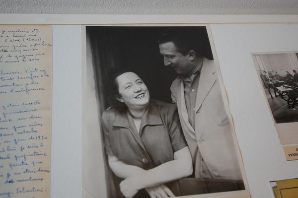 The couple Maeght <br /> Foundation Maeght <br /> St-Paul-de-Vence, France<br /> Nikkor 12-24mm f/4G ED-IF AF-S DX