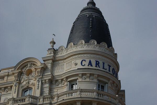 Intercontinental Carlton Hotel,<br /> classic Belle Epoch style <br /> Cannes, France<br /> Nikkor 70-300mm f/4.5-5.6G IF-ED AF-S VR Zoom
