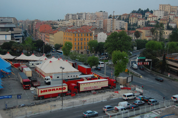 Carnival, from our room window <br /> Nice, France