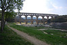 Pont du Gard, ancient Roman aqueduct <br /> Pont du Gard, France
