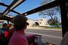 Avignon bridge from trolley