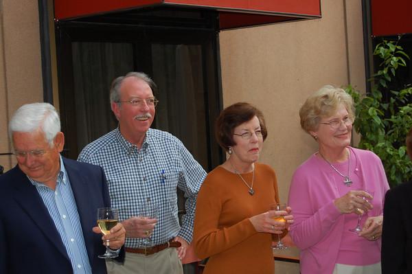 Milton, Chuck & Dianna, Margo Loeffler<br /> Sofitel Nice Centre Hotel<br /> Nice, France
