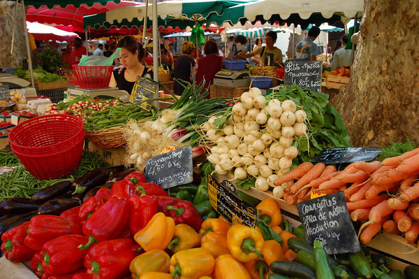 Market <br /> Aix-en-Provence, France