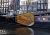 Amsterdam; sailing boat with large freeboard