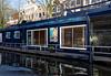Amsterdam; nice houseboat