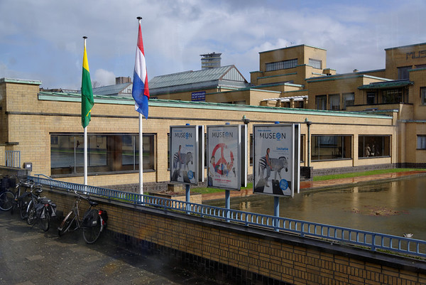 The Hague; Gemeentemuseum (Municipal Museum), photos not allowed