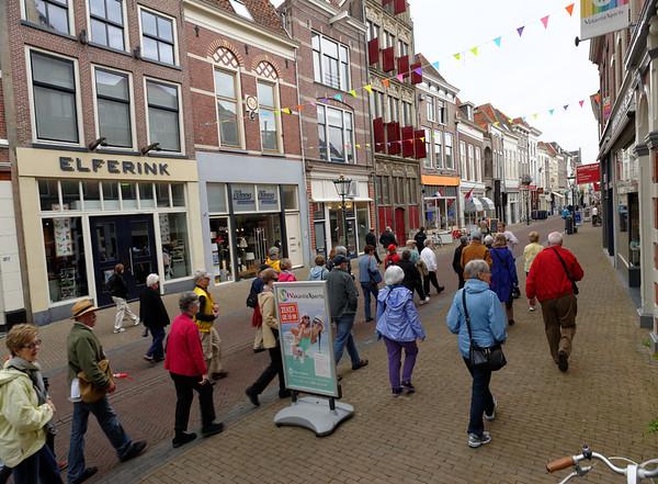 Kampen; walkable streets