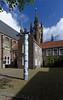 Delft; Museum Het Prinsenhof was closed